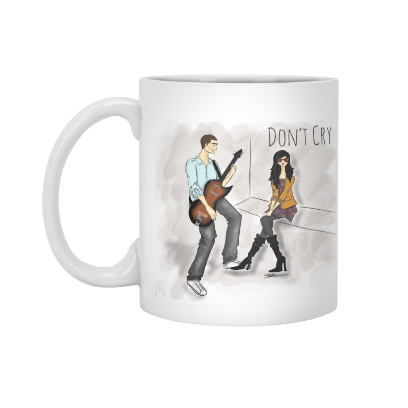 Don't Cry SamiaLynn Artwork Accessories Mug by MerlotEmbargo's Artist Shop