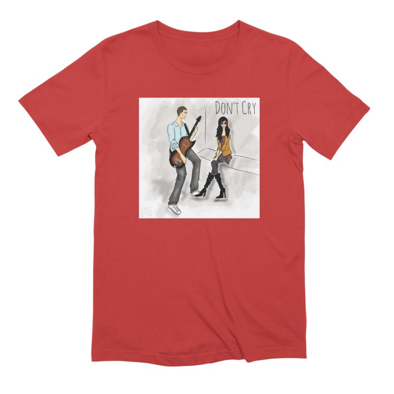 Don't Cry SamiaLynn Artwork Men's T-Shirt by MerlotEmbargo's Artist Shop