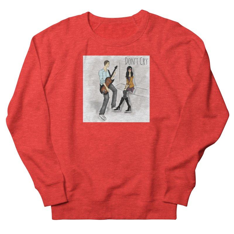 Don't Cry SamiaLynn Artwork Men's Sweatshirt by MerlotEmbargo's Artist Shop