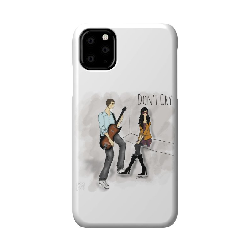 Don't Cry SamiaLynn Artwork Accessories Phone Case by MerlotEmbargo's Artist Shop