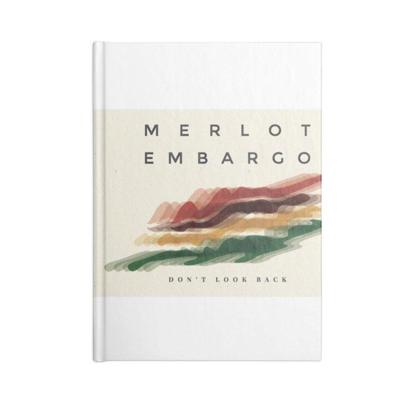 Don't Look Back Album Artwork Accessories Blank Journal Notebook by MerlotEmbargo's Artist Shop