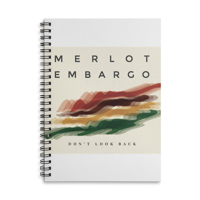 Don't Look Back Album Artwork Accessories Lined Spiral Notebook by MerlotEmbargo's Artist Shop