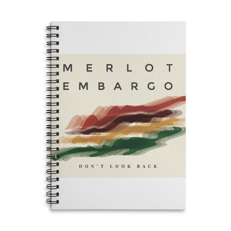 Don't Look Back Album Artwork Accessories Notebook by MerlotEmbargo's Artist Shop