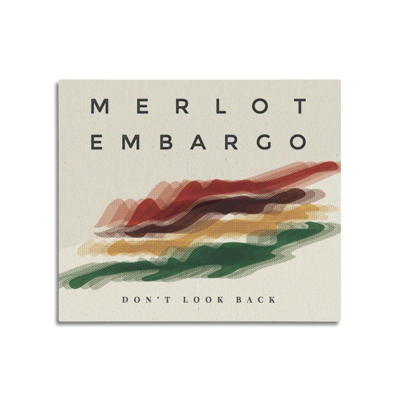 Don't Look Back Album Artwork Home Mounted Aluminum Print by MerlotEmbargo's Artist Shop