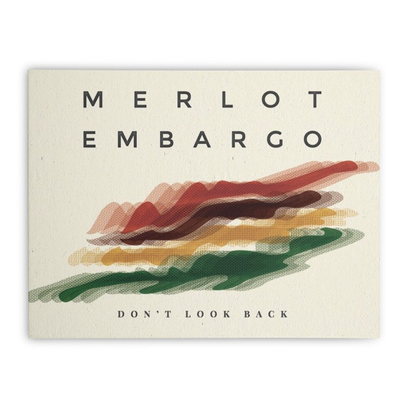 Don't Look Back Album Artwork Home Stretched Canvas by MerlotEmbargo's Artist Shop