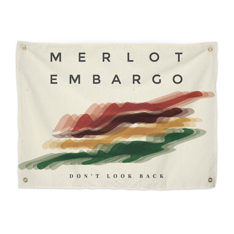 Don't Look Back Album Artwork Home Tapestry by MerlotEmbargo's Artist Shop