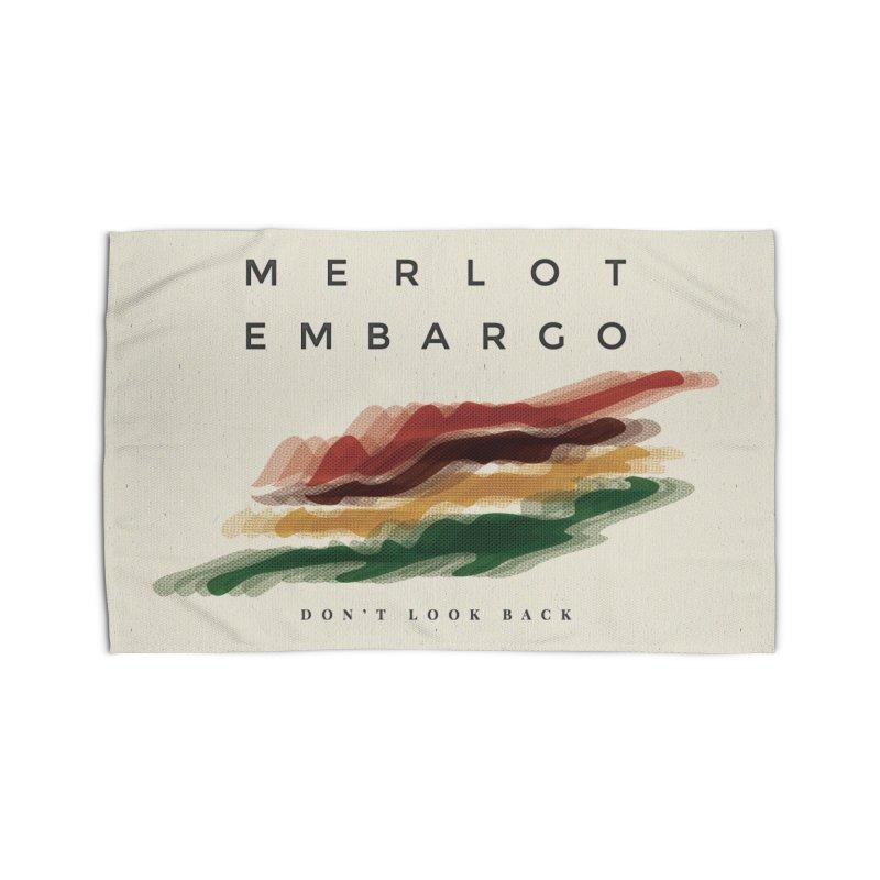 Don't Look Back Album Artwork Home Rug by MerlotEmbargo's Artist Shop