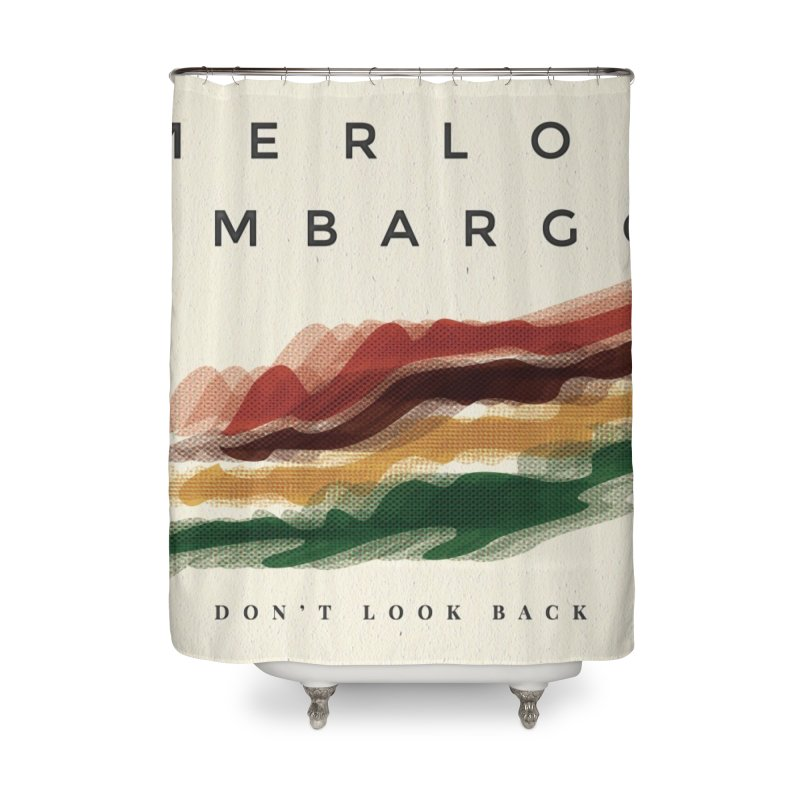 Don't Look Back Album Artwork Home Shower Curtain by MerlotEmbargo's Artist Shop