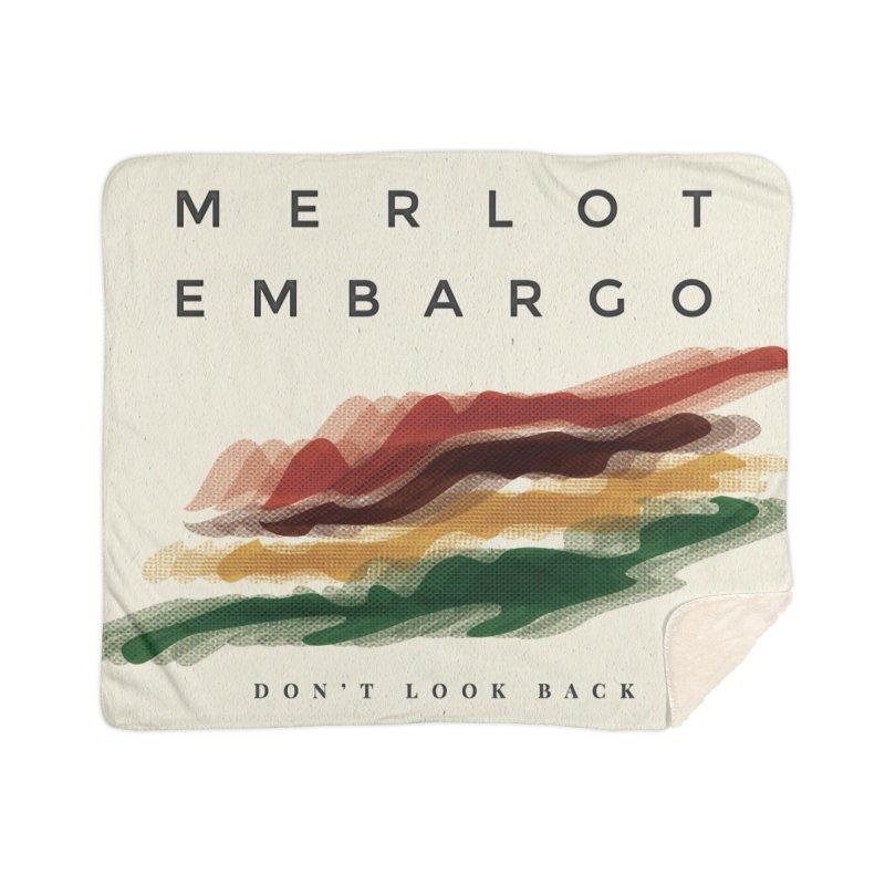 Don't Look Back Album Artwork Home Blanket by MerlotEmbargo's Artist Shop