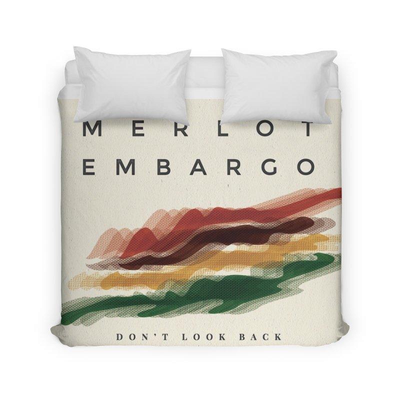 Don't Look Back Album Artwork Home Duvet by MerlotEmbargo's Artist Shop