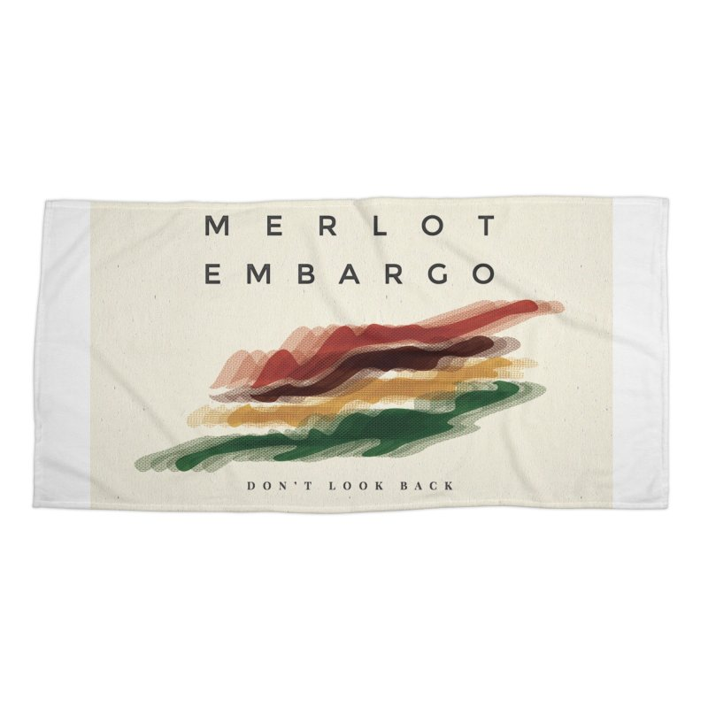Don't Look Back Album Artwork Accessories Beach Towel by MerlotEmbargo's Artist Shop