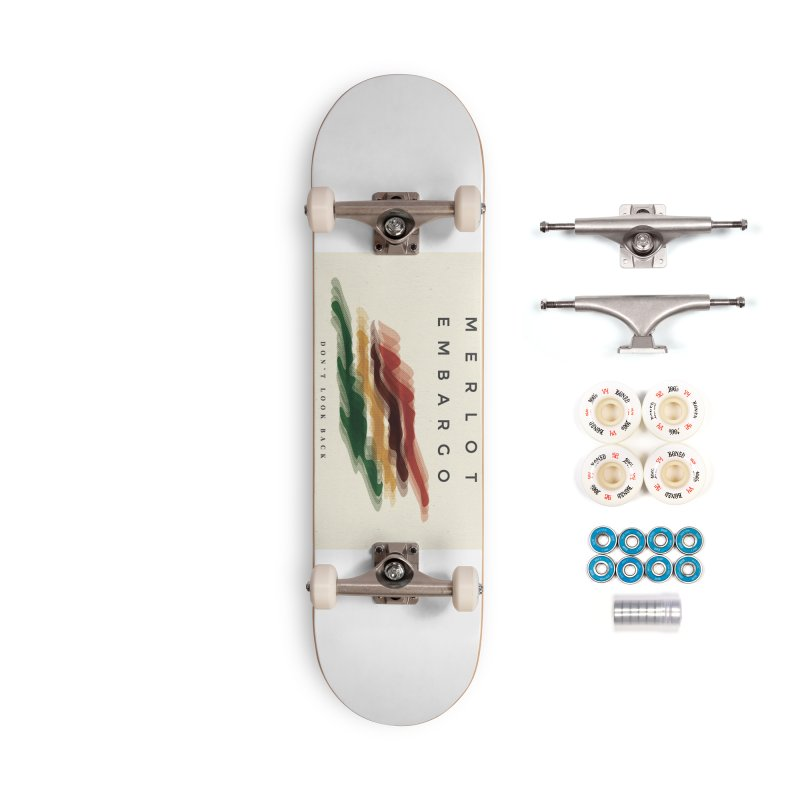 Don't Look Back Album Artwork Accessories Complete - Premium Skateboard by MerlotEmbargo's Artist Shop