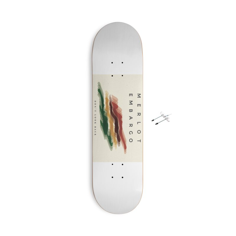 Don't Look Back Album Artwork Accessories With Hanging Hardware Skateboard by MerlotEmbargo's Artist Shop