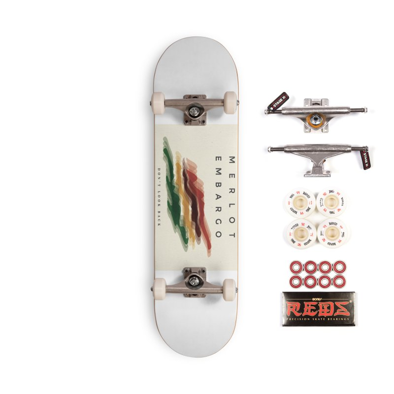 Don't Look Back Album Artwork Accessories Complete - Pro Skateboard by MerlotEmbargo's Artist Shop