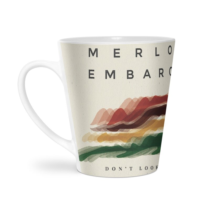 Don't Look Back Album Artwork Accessories Latte Mug by MerlotEmbargo's Artist Shop
