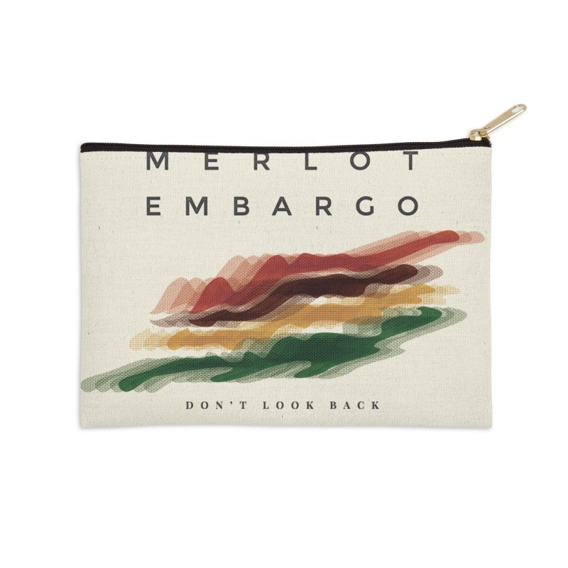 Don't Look Back Album Artwork Accessories Zip Pouch by MerlotEmbargo's Artist Shop