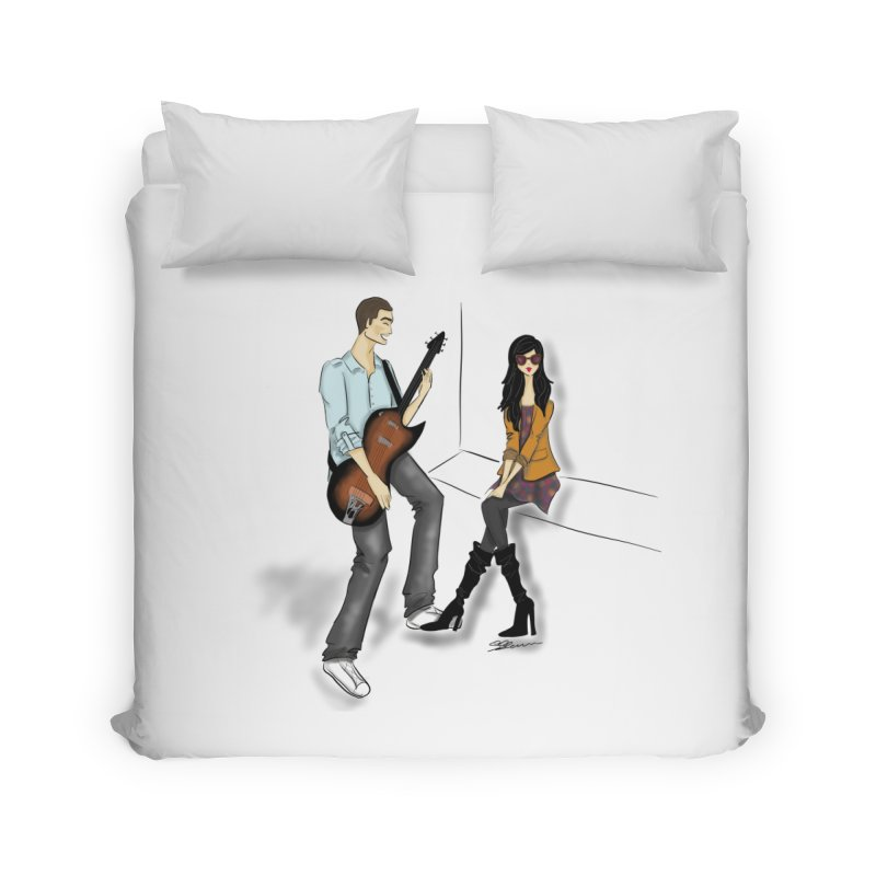 Duo - Artwork by SamiaLynn Home Duvet by MerlotEmbargo's Artist Shop
