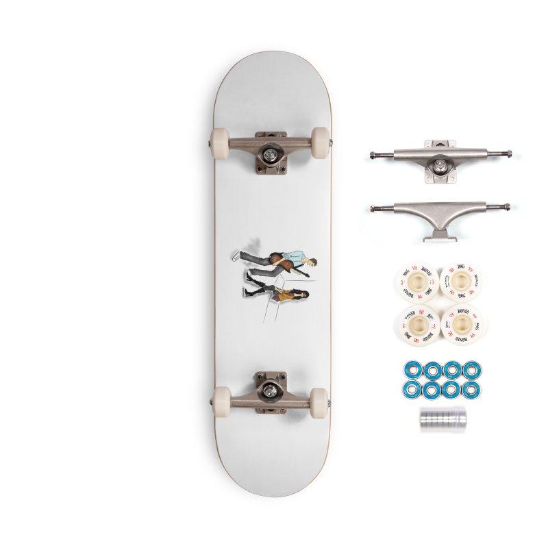 Duo - Artwork by SamiaLynn Accessories Complete - Premium Skateboard by MerlotEmbargo's Artist Shop