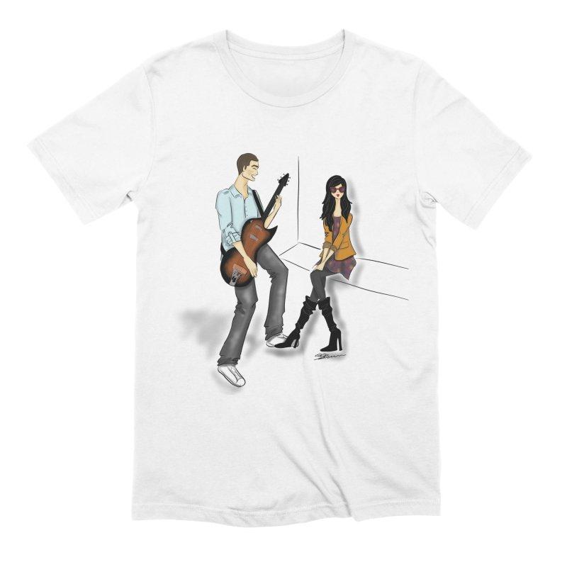 Duo - Artwork by SamiaLynn Men's T-Shirt by MerlotEmbargo's Artist Shop