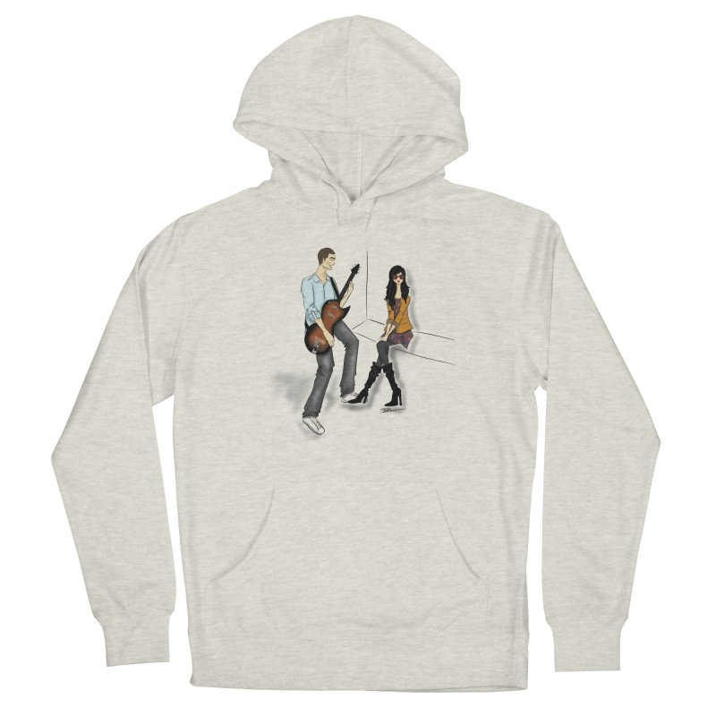 Duo - Artwork by SamiaLynn Men's Pullover Hoody by MerlotEmbargo's Artist Shop