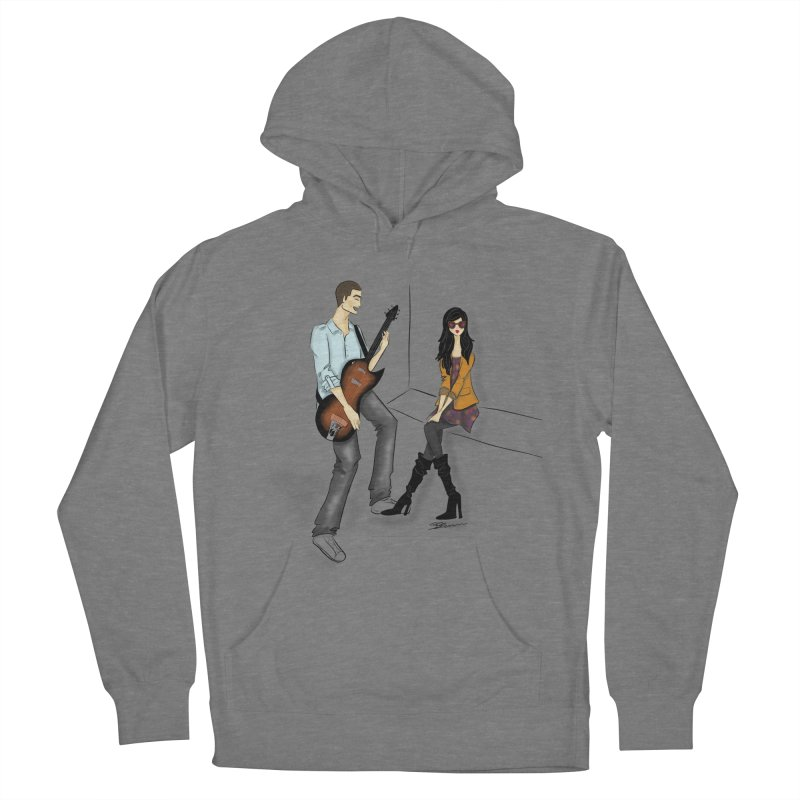 Duo - Artwork by SamiaLynn Women's French Terry Pullover Hoody by MerlotEmbargo's Artist Shop