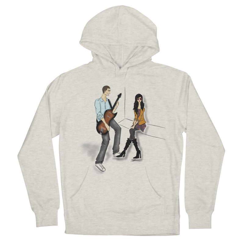 Duo - Artwork by SamiaLynn Men's French Terry Pullover Hoody by MerlotEmbargo's Artist Shop
