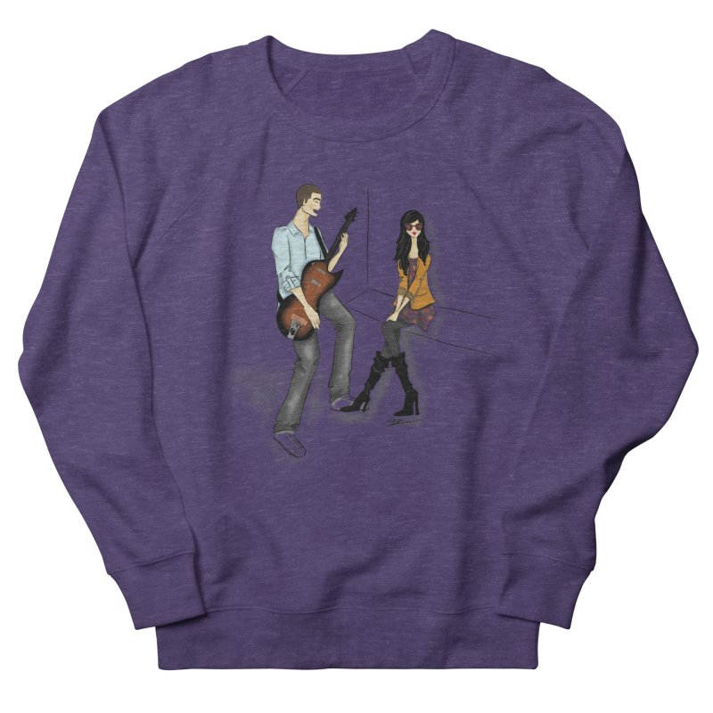 Duo - Artwork by SamiaLynn Women's French Terry Sweatshirt by MerlotEmbargo's Artist Shop
