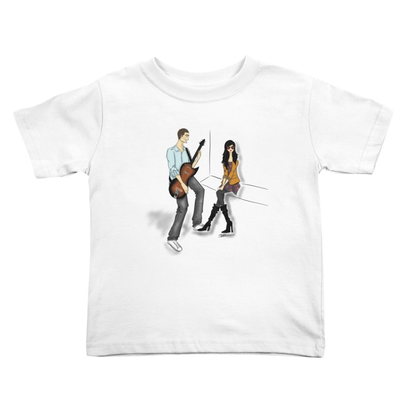 Duo - Artwork by SamiaLynn Kids Toddler T-Shirt by MerlotEmbargo's Artist Shop