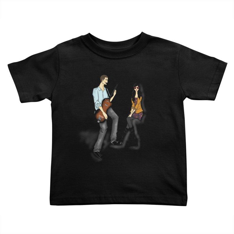 Duo - Artwork by SamiaLynn Kids Toddler T-Shirt by MerlotEmbargo's Artist Shop