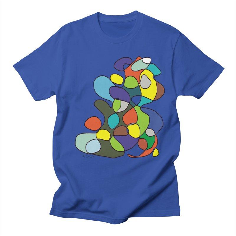 Doodling in Women's Unisex T-Shirt Royal Blue by Mfashionart's Artist Shop