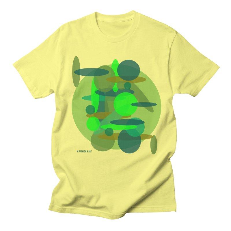 Bubble G in Women's Unisex T-Shirt Lemon by Mfashionart's Artist Shop