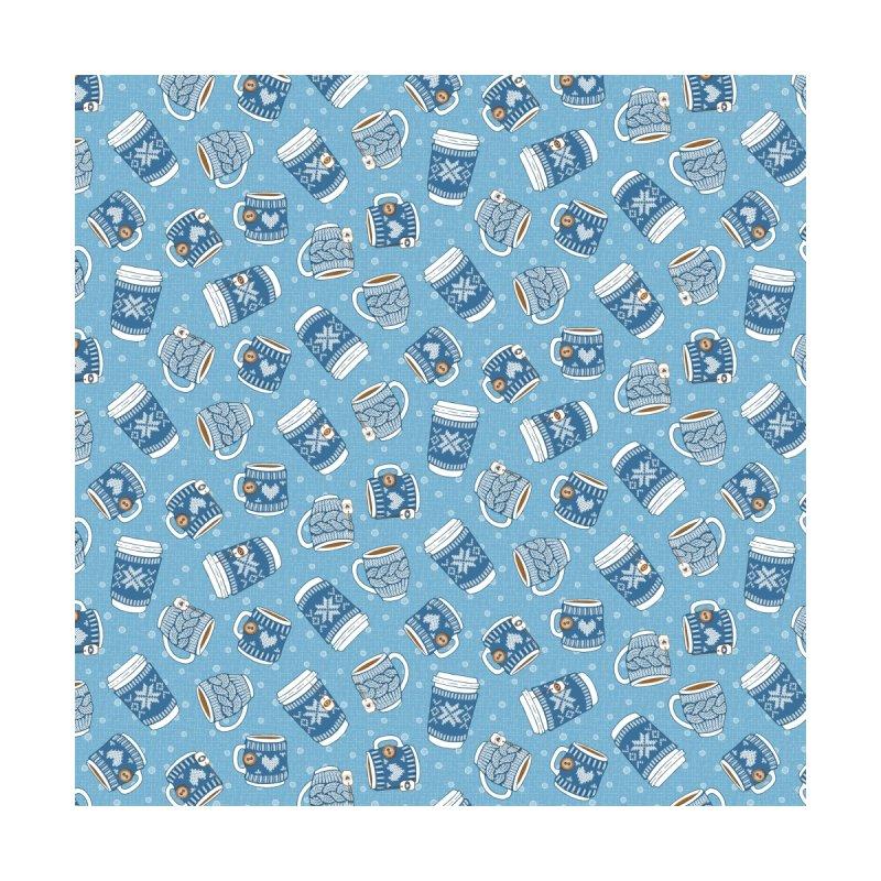 Cozy Blue Mugs Accessories Magnet by MiaValdez's Artist Shop