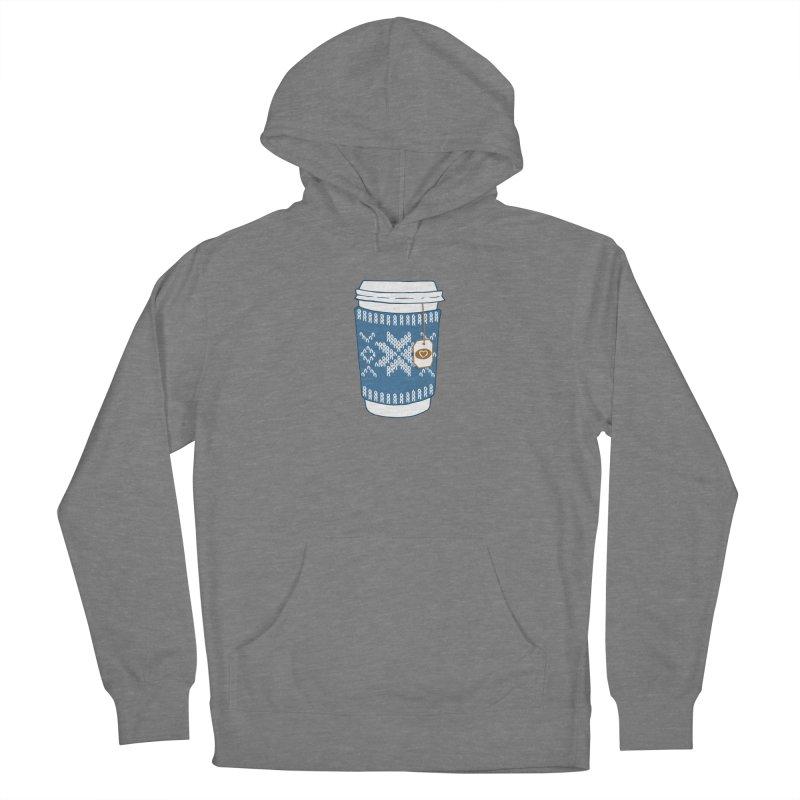 Cozy Blue Mugs Women's Pullover Hoody by MiaValdez's Artist Shop