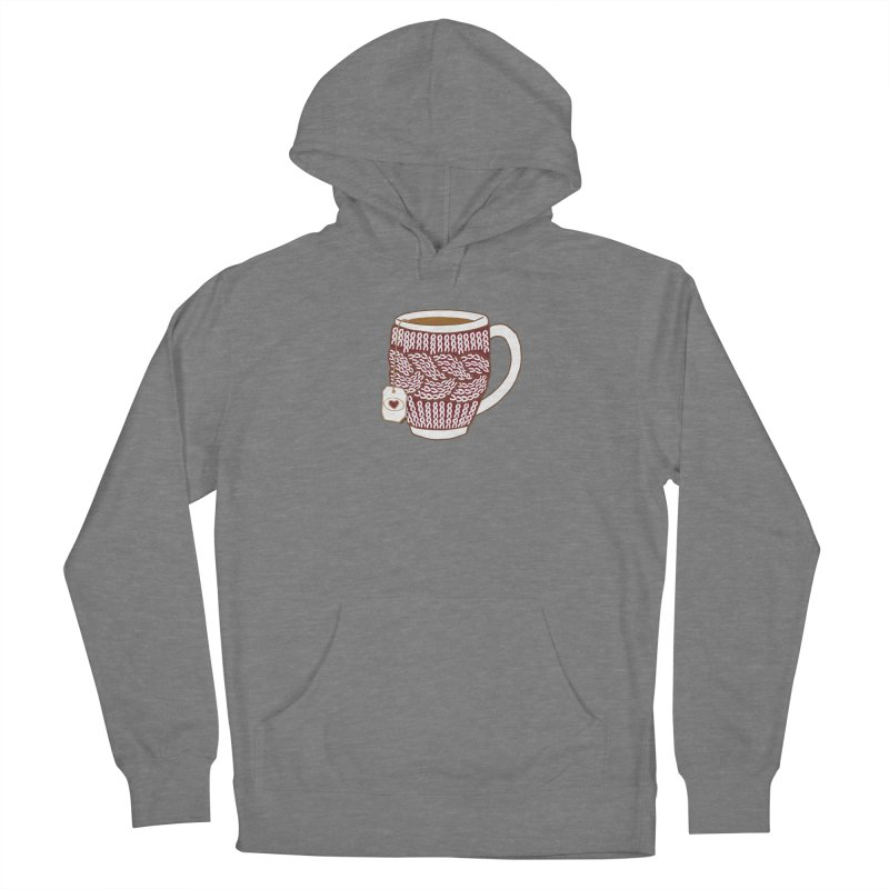 Cozy Red Mugs Women's Pullover Hoody by MiaValdez's Artist Shop
