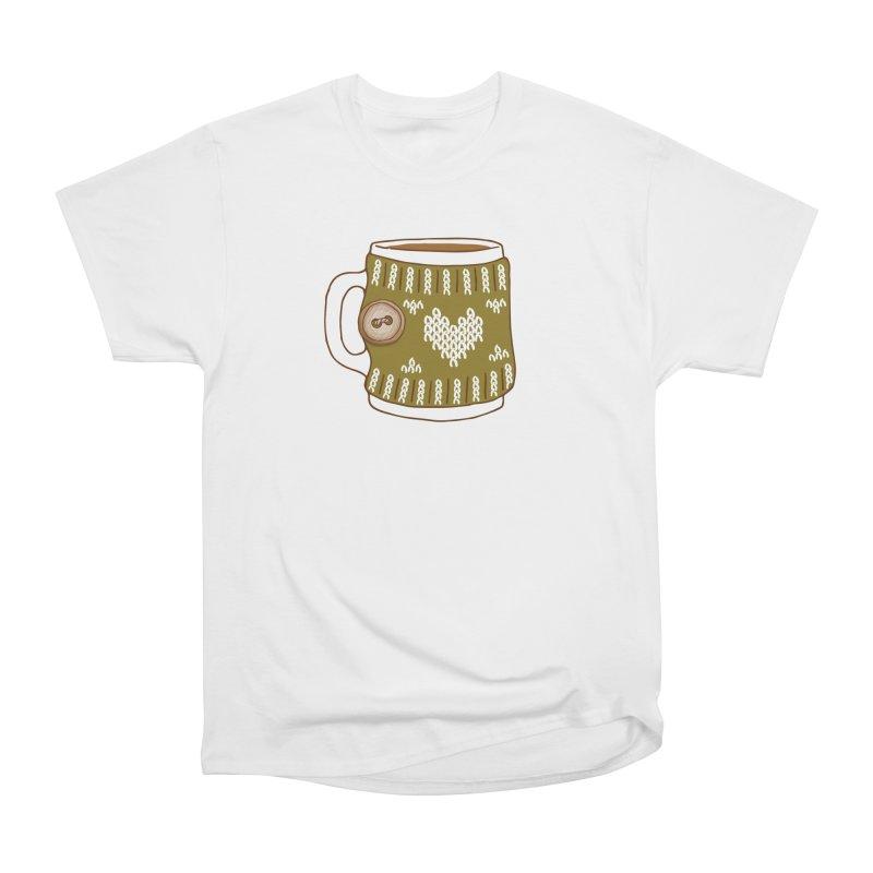 Cozy Green Mugs Women's T-Shirt by MiaValdez's Artist Shop