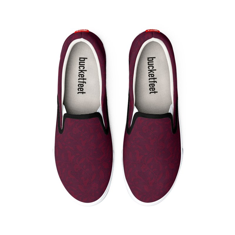 Acorn of Prosperity - Wine Women's Shoes by MiaValdez's Artist Shop