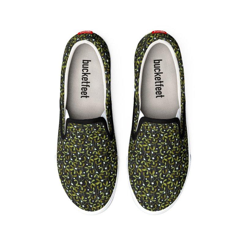 Rustic Mistletoe Women's Shoes by MiaValdez's Artist Shop