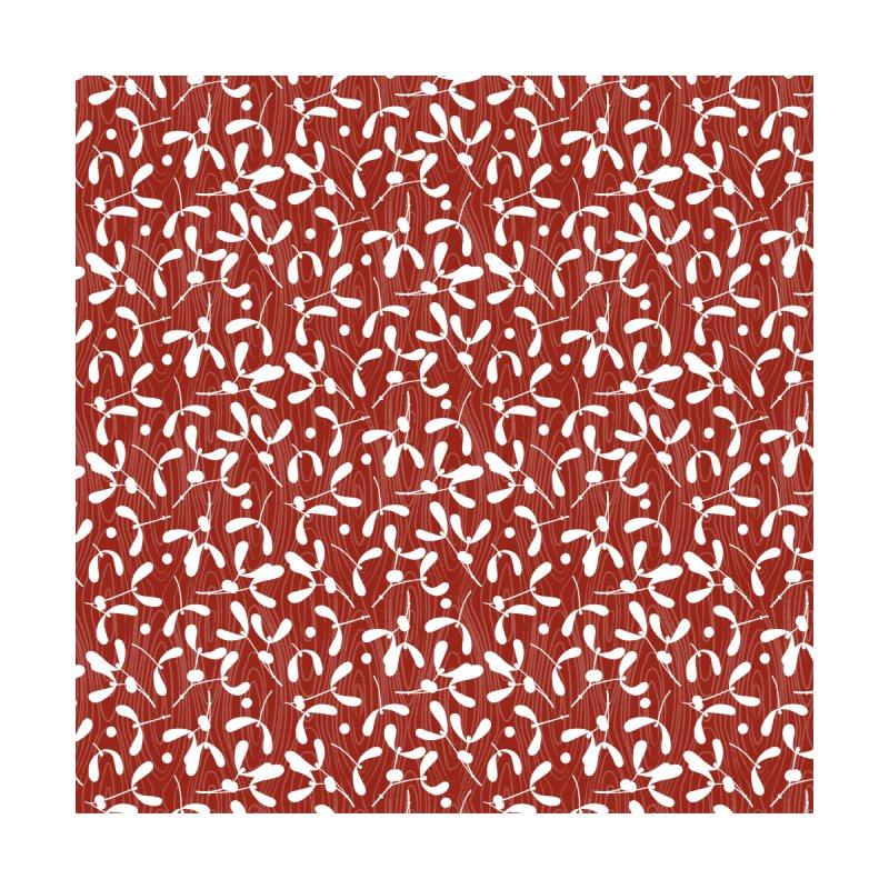 Rustic Mistletoe - Red Women's Bottoms by MiaValdez's Artist Shop