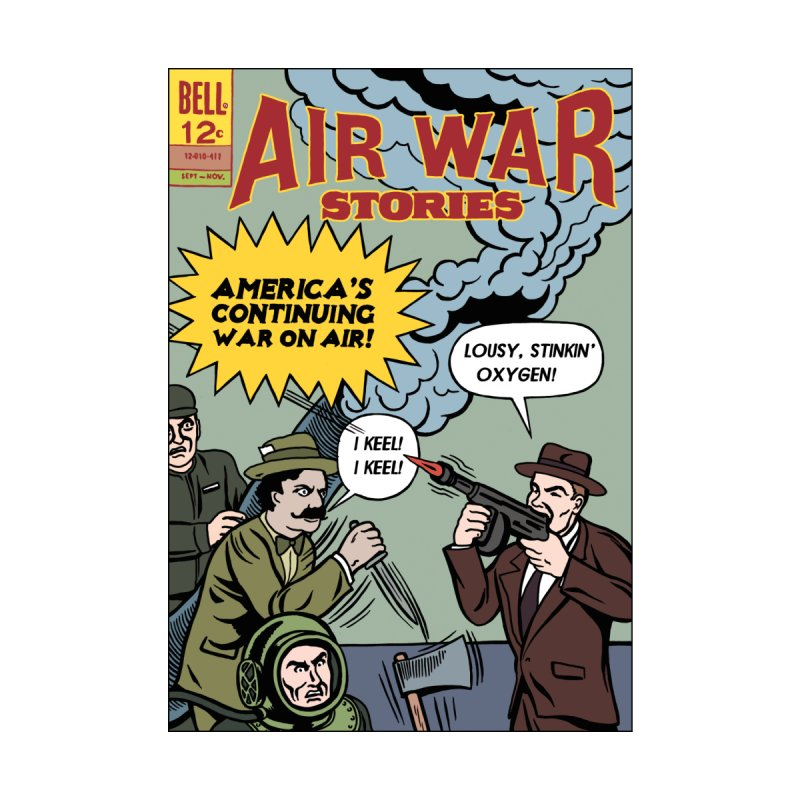 Air War by Michael Kupperman's Artist Shop