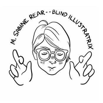M. Sabine Rear Logo