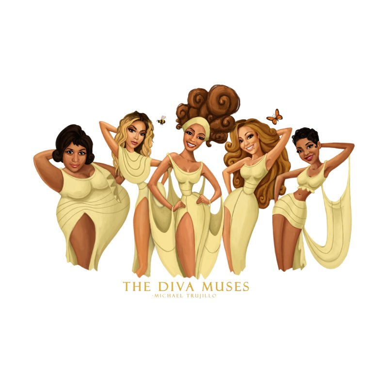 The Diva Muses by Michael Trujillo