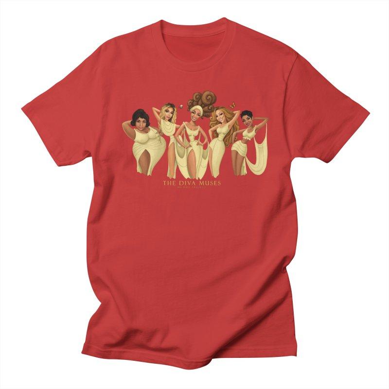 The Diva Muses Men's T-Shirt by Michael Trujillo