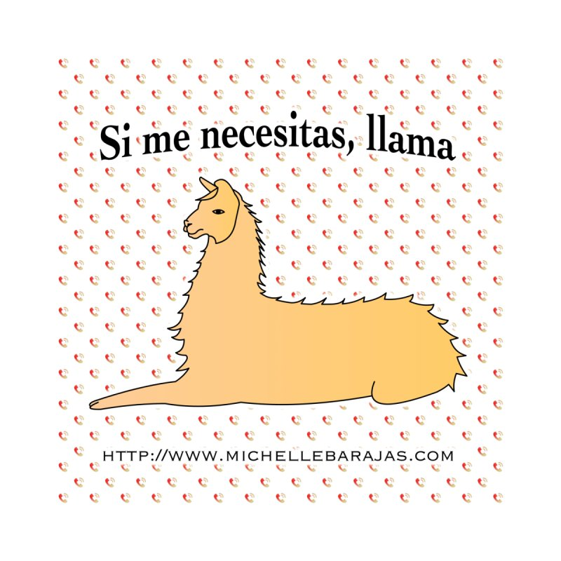 Si me necesitas, llama Men's T-Shirt by ballamichelle's Artist Shop