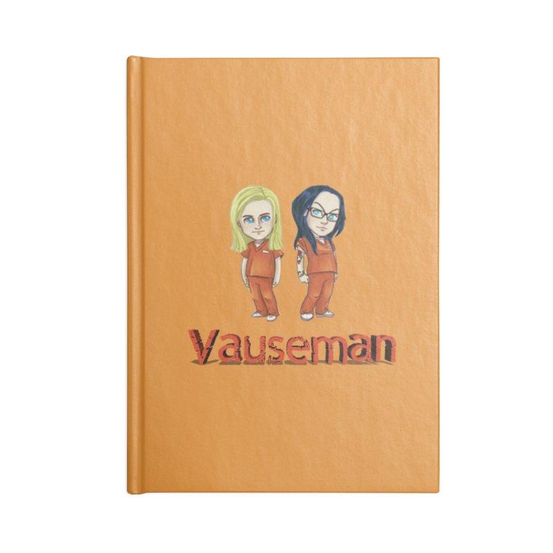 Orange is the New Black Vauseman Accessories Notebook by Midget's Artist Shop