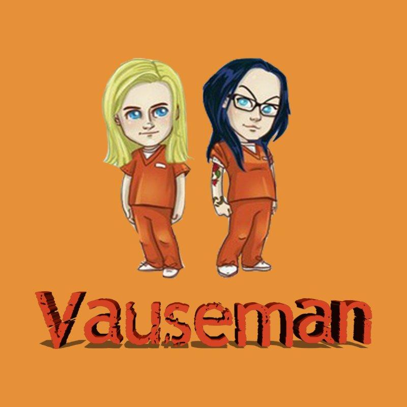Orange is the New Black Vauseman Women's V-Neck by Midget's Artist Shop