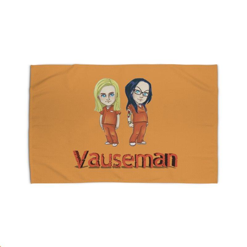 Orange is the New Black Vauseman Home Rug by Midget's Artist Shop