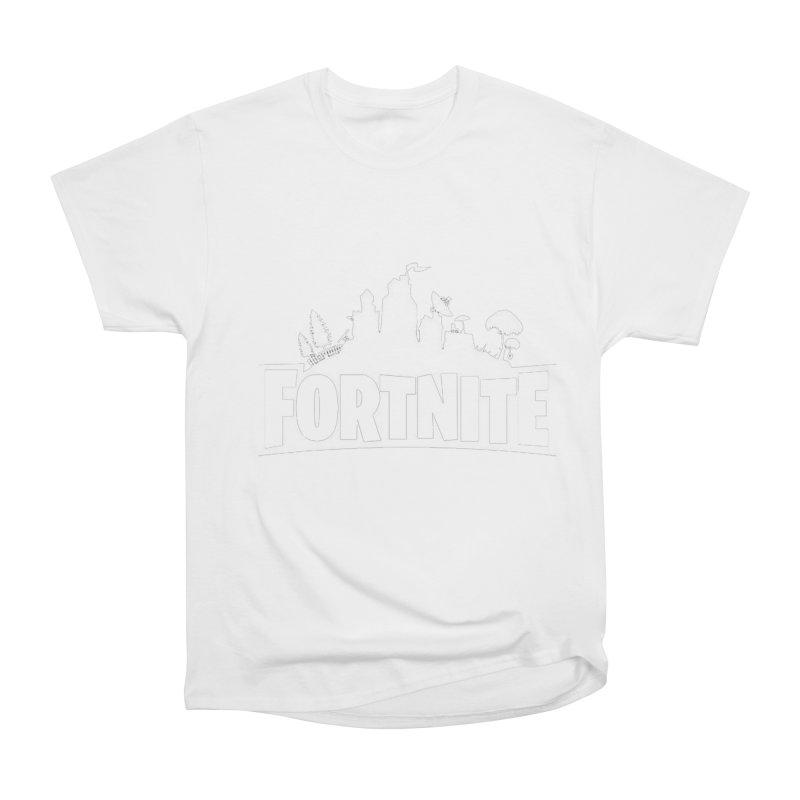 Fortnite Logo Women's T-Shirt by Midget's Artist Shop
