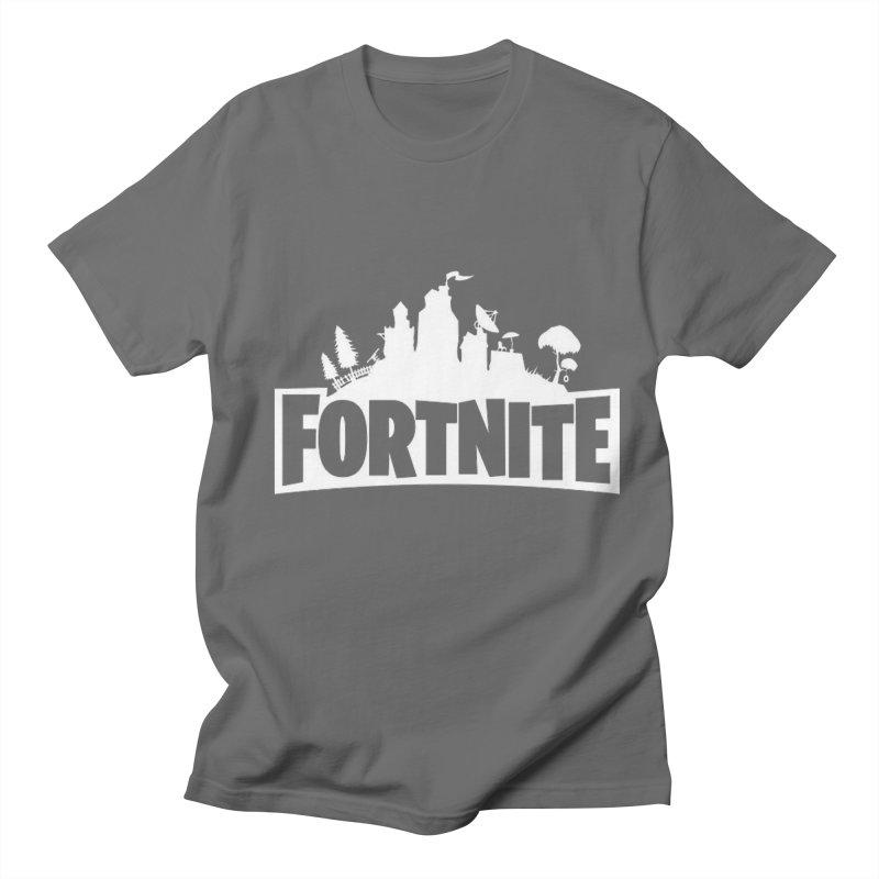 Fortnite Logo Men's T-Shirt by Midget's Artist Shop