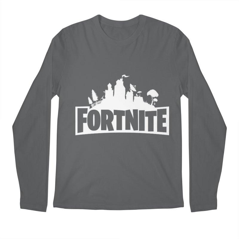 Fortnite Logo Men's Longsleeve T-Shirt by Midget's Artist Shop