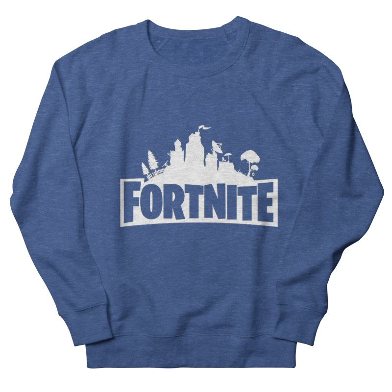 Fortnite Logo Men's Sweatshirt by Midget's Artist Shop